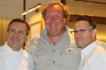 Daniel Boulud, Chef Cafe Boulud Norman Hardie, owner/winemaker, Norman Hardie Winery Jason Bangerter, Chef Langdon Hall