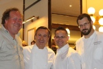 Daniel Boulud, Chef Cafe Boulud Norman Hardie, owner/winemaker, Norman Hardie Winery Jason Bangerter, Chef Langdon Hall Sylvain Assié, chef de cuisine, Cafe Boulud