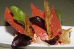 Chicken Liver Parfait - toasted hazelnuts, beetroot