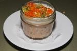 Trout Rillettes - crème fraîche, sea buckthorn, fennel pollen