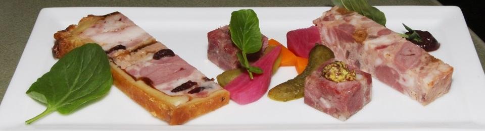 Paté en Croûte - goose, duck foie gras, cranberries