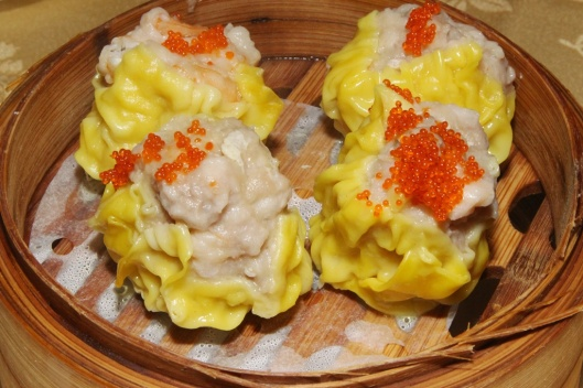 #3 Siu Mai - pork dumpling with scallop & fish roe L $3.00