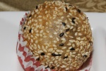 #62 Deep fried black sesame ball M $3.00
