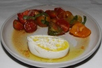 Heirloom tomato salad - burrata Pugliese, Moscatel vinegar $15