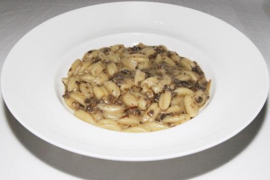 Cavatelli Pugllese - truffle-scented mushroom bolognese $24.00