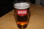 Heineken draught $6.25 (16 ounce) (in an Okanagan Spring 16 oz. glass)