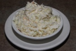 Coleslaw… creamy dressing $2.15