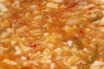 16 Hot and sour soup with seafood $5.50