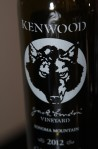 2012 Kenwood Vineyards Jack London Vineyard Cabernet Sauvignon Sonoma County, USA