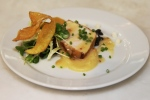 Keith Froggett, Scaramouche - Seared cold smoked Pacific sturgeon
