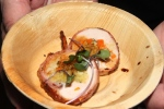 Massimo Capra, International Chef - Stuffed Cornish Game Hen wrapped in bacon
