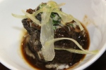John Higgins, GBC, The Chefs' House - Veal cheeks braised in Stratus red wine with escargot ragout