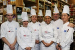 Chef John Higgins and students from George Brown College, The Chefs' House