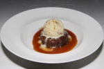 sticky toffee pudding - pecan praline, spotted dick ice cream $12