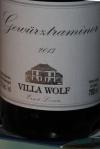 Complimentary corkage 2013 Villa Wolf Gewürztraminer