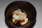 roasted maitake mushroom - unami paste, shaved maitake, split chicken jus