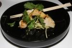 Smoked white fish, wakame salad, citrus soya, coriander, binchōtan oil