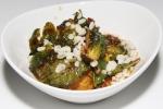 Brussels sprouts, sambal, mint, tempura bits $4.50