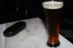 Granville Island English Bay draught 20 oz. (Canadian pint in 2x10 oz. glasses) $7