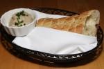 House bread and white bean dip
