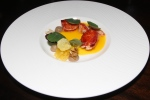 Nova Scotia lobster, squash, turnip, savoy cabbage
