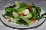 Stir fried mixed vegetables $7.95