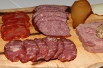 Charcuterie & cheese board, cured meats, terrine & artisanal cheese $26
