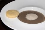 truffle purée, morel cream, parmesan shortbread