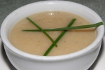 soup - parsnip, apple and potato $6