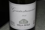 Villa Wolf Gewürztraminer Ernst Lessen Pfalz 2013 11.5% alc./vol. 750 ml