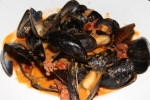the price you pay for Mussels is the same as the time you order them. We had five orders. $5