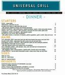 The Dinner Menu 2016 04 10